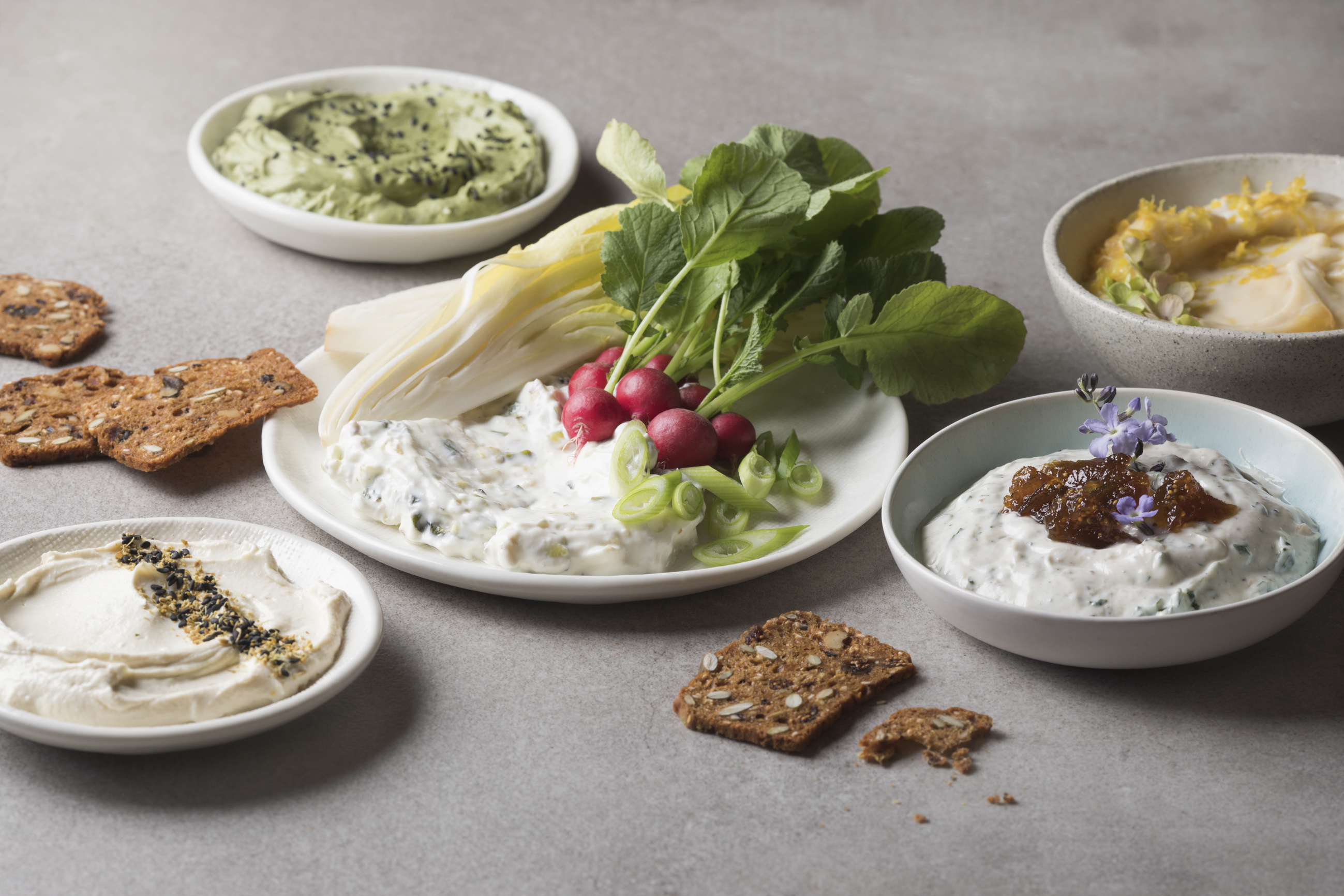 Five delicious dips